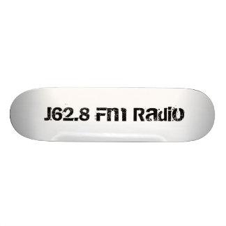 J62 8 Fm Radio Complete Company Skateboard