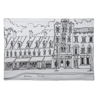 J.A. Moisan Grocery Store | Canada Placemat