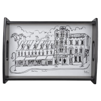 J.A. Moisan Grocery Store | Canada Serving Tray