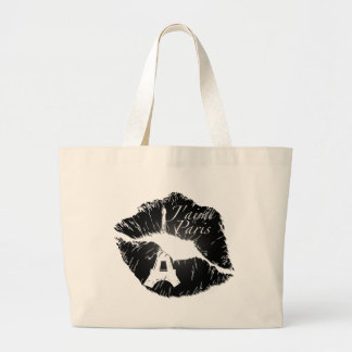 J aime Paris Lips Tote Bag