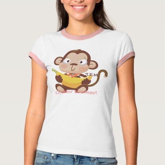 J.E.M, Cheeky Monkey! T-Shirt