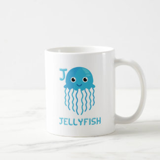 J is for Jellyfish Coffee Mug