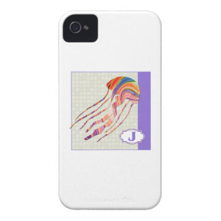 J is for Jellyfish iPhone 4 Case