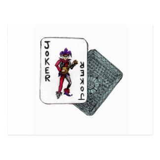 J is for Joker Postcard