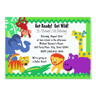 J is for Jungle Card