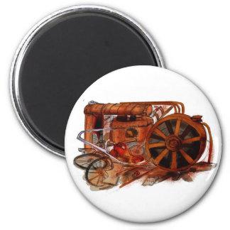 J is for Junkyard 6 Cm Round Magnet