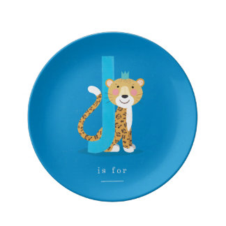 J is for... plate