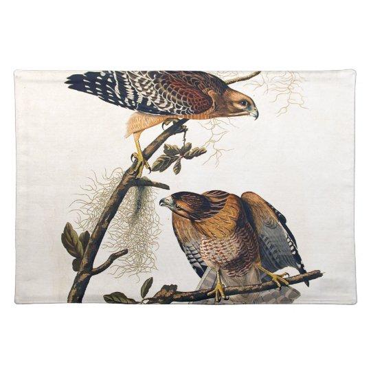 J.J. Audubon (Red Shouldered Hawk) (1829) Placemat