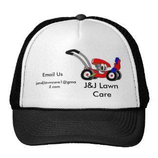 J&J Lawn Care Trucker Hat