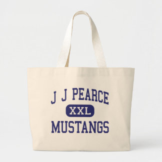 J J Pearce - Mustangs - High - Richardson Texas Canvas Bag