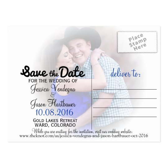 J+J Save the Dates Postcard