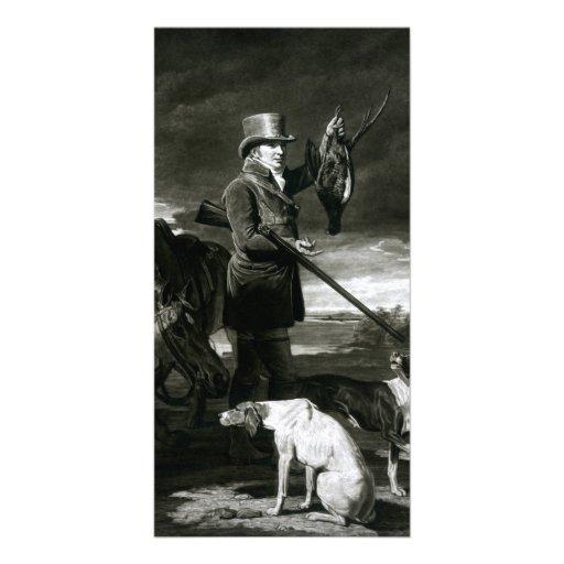 J J Shaddick Esq Picture Card