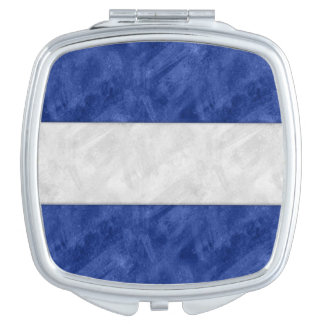J Juliet Watercolor Nautical Signal Maritime Flag Travel Mirrors