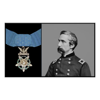 J L Chamberlain and The Medal Of Honor Posters