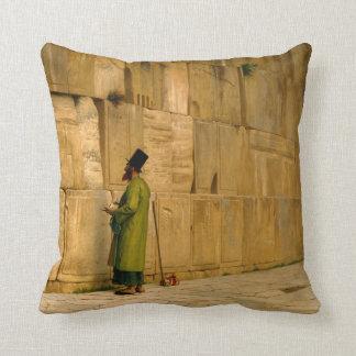 J.L. Gerome - The Wailing Wall Cushion