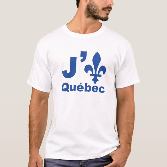 J' (lys) Québec T-Shirt