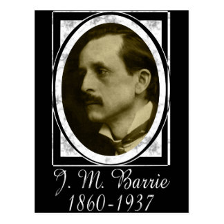 J.M. Barrie Postcard