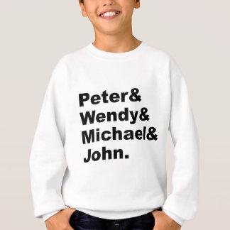 J.M. Barrie's Peter Pan | Peter Wendy Michael John Sweatshirt