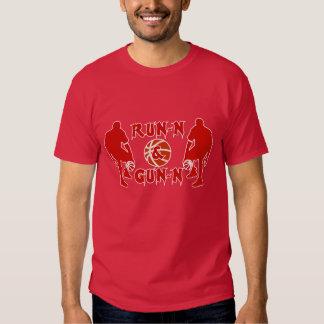 J-MO-NET RUN-N & GUN-N RED TSHIRTS