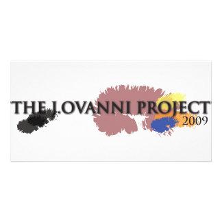 J. Ovanni Project 2009 Custom Photo Card