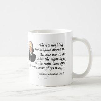 J.S. Bach on Playing Coffee Mug