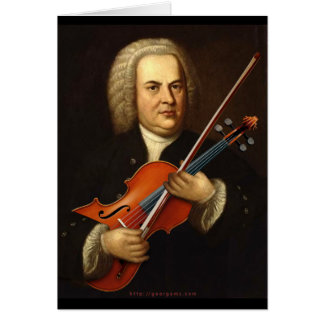 J.S. Bach with a Viola Card