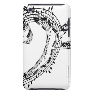 J.S.Bach's Cello Suite Barely There iPod Covers