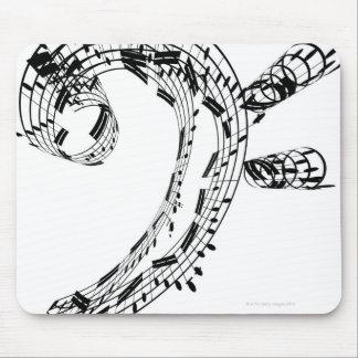 J.S.Bach's Cello Suite Mouse Pad