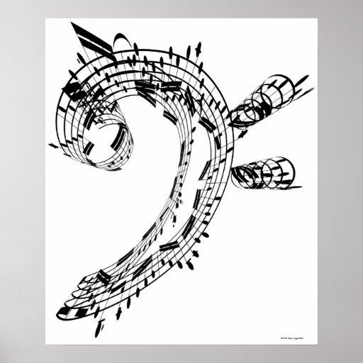 J.S.Bach's Cello Suite Poster