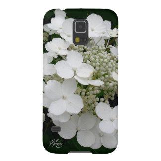 J Spoelstra White Floral Samsung Galaxy 5 Case