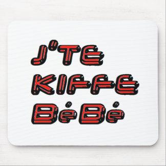 J TE KIFFE BEBE png Tapis De Souris