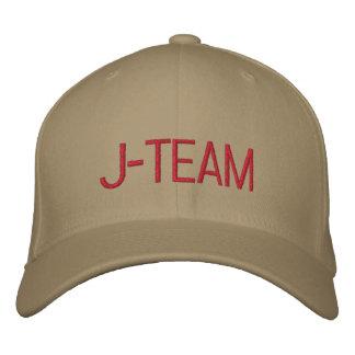 J-TEAM EMBROIDERED BASEBALL CAP
