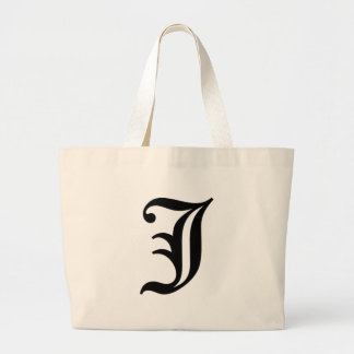 J-text Old English Large Tote Bag