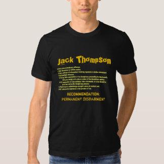 J. Thompson: Permanent Disbarment T-shirt