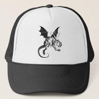 Jabberwocky Black Trucker Hat
