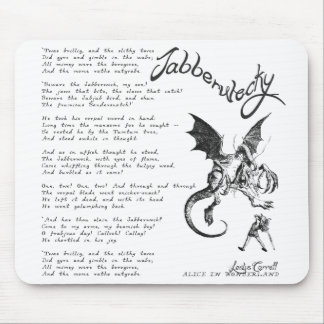 Jabberwocky Poem Mouse Mat