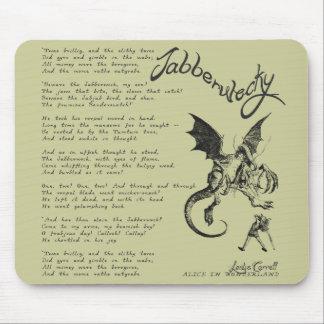 Jabberwocky Poem Mouse Pads