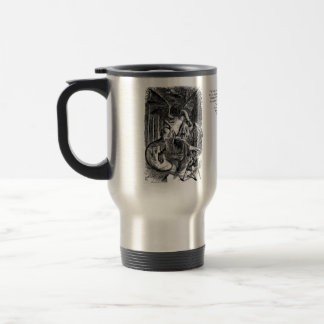 Jabberwocky Stainless Steel Travel Mug