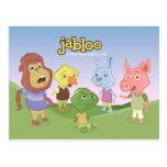 Jabloo Outside Scene Postcard