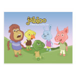 Jabloo Outside Scene Postcards