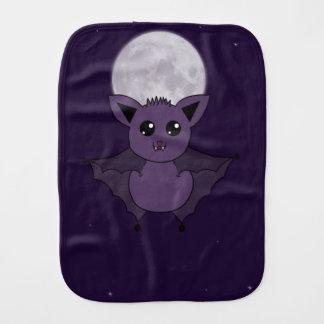 Jac the Bat Flying by night Baby Burp Cloths
