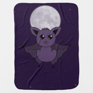 Jac the Bat Flying by night Buggy Blankets