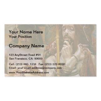 Jacek Malczewski- ChristbeforePilate Business Card Template
