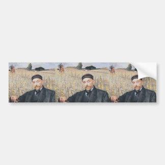 Jacek Malczewski: Portrait of Waclaw Karczewski Bumper Sticker