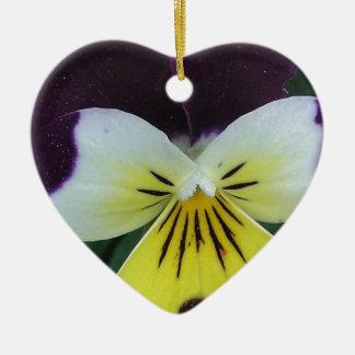 Jack and Jill Ceramic Heart Decoration