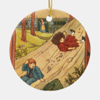 """Jack and Jill"" Christmas Ornament"