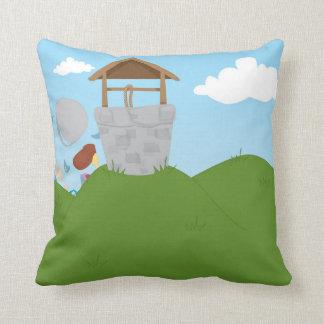 Jack and Jill Throw Pillows