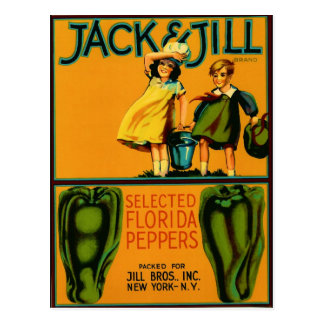 Jack and Jill Postcard