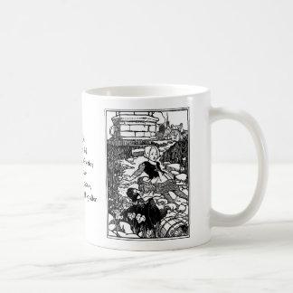 Jack and Jill Vintage Nursery Rhyme Coffee Mugs
