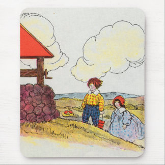 Jack and Jill went up the hill Mouse Pad